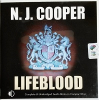 Lifeblood written by N.J. Cooper performed by Julia Franklin on CD (Unabridged)