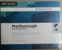 Marlborough written by Winston Churchill performed by Sean Barrett on MP3 CD (Unabridged)