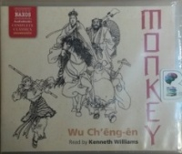 Monkey written by Wu Ch'eng-en performed by Kenneth Williams on CD (Unabridged)