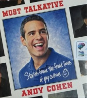 Most Talkative - Stories from the Front Lines of Pop Culture written by Andy Cohen performed by Andy Cohen on CD (Unabridged)