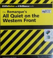 On Remarque's All Quiet on the Western Front written by Susan Van Kirk M.Ed. performed by Luke Daniels on MP3 CD (Unabridged)
