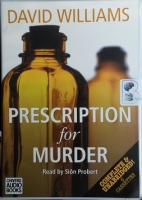 Prescription for Murder written by David Williams performed by Sion Probert on Cassette (Unabridged)