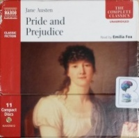 Pride and Prejudice written by Jane Austen performed by Emilia Fox on CD (Unabridged)