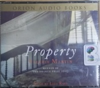 Property written by Valerie Martin performed by Liza Ross on CD (Abridged)