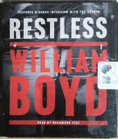 Restless written by William Boyd performed by Rosamund Pike on CD (Unabridged)