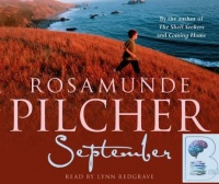 September written by Rosamunde Pilcher performed by Lynn Redgrave on CD (Abridged)