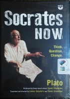 Socrates Now written by Plato performed by Yannis Simonides on MP3 CD (Abridged)