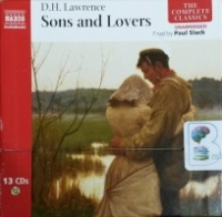 Sons and Lovers written by D.H. Lawrence performed by Paul Slack on CD (Unabridged)