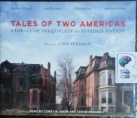 Tales of Two Americas written by John Freeman (Ed.) and Various American Authors performed by Corey M. Snow on CD (Unabridged)