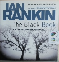 The Black Book written by Ian Rankin performed by James Macpherson on CD (Abridged)