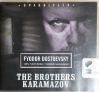 The Brothers Karamazov written by Fyodor Dostoevsky performed by Frederick Davidson on CD (Unabridged)
