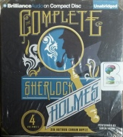 The Complete Sherlock Holmes written by Arthur Conan Doyle performed by Simon Vance on CD (Unabridged)