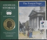 The Forsyte Saga written by John Galsworthy performed by Peter Joyce on CD (Unabridged)