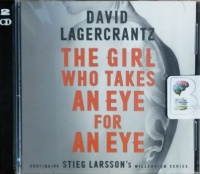 The Girl Who Takes an Eye for an Eye written by David Lagercrantz performed by Saul Reichlin on MP3 CD (Unabridged)