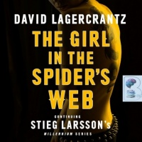 The Girl in the Spider's Web written by David Lagercrantz performed by Saul Reichlin on MP3 CD (Unabridged)