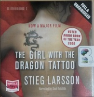 The Girl with the Dragon Tattoo written by Stieg Larsson performed by Saul Reichlin on CD (Unabridged)