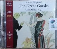 The Great Gatsby written by F. Scott Fitzgerald performed by William Hope on CD (Abridged)