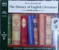The History of English Literature written by Perry Keenlyside performed by Derek Jacobi on CD (Abridged)