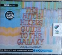 The Hitchhiker's Guide to the Galaxy written by Douglas Adams performed by Douglas Adams on CD (Unabridged)
