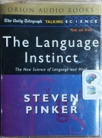 The Language Instinct written by Steven Pinker performed by Lalla Ward on Cassette (Abridged)