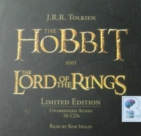 The Lord of the Rings and The Hobbit Collectors Edition written by J.R.R. Tolkien performed by Rob Inglis on CD (Unabridged)
