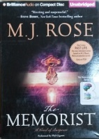 The Memorist - A Novel of Suspense written by M.J. Rose performed by Phil Gigante on CD (Unabridged)