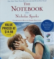 The Notebook written by Nicholas Sparks performed by Barry Bostwick on CD (Unabridged)