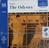 The Odyssey written by Homer performed by Anton Lesser on CD (Unabridged)