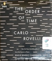 The Order of Time written by Carlo Rovelli performed by Benedict Cumberbatch on CD (Unabridged)