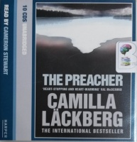 The Preacher written by Camilla Lackberg performed by Cameron Stewart on CD (Unabridged)