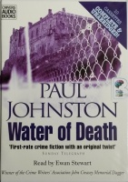Water of Death written by Paul Johnston performed by Ewan Stewart on Cassette (Unabridged)