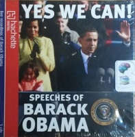 Yes We Can! written by Barack Obama performed by Barack Obama on CD (Unabridged)