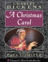 A Christmas Carol written by Charles Dickens performed by Paul Scofield on Cassette (Abridged)