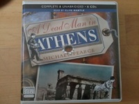 A Dead Man in Athens written by Michael Pearce performed by Clive Mantle on CD (Unabridged)