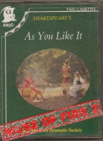 As You Like It written by William Shakespeare performed by Marlowe Dramatic Society, Janet Suzman, John Stride and Roy Dotrice on Cassette (Unabridged)