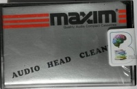 Audio Head Cleaner written by Maxim performed by Maxim on Cassette (Unabridged)