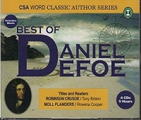 The Best of Daniel Defoe written by Daniel Defoe performed by Tony Britton and Rowena Cooper on CD (Abridged)