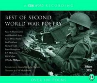 Best of Second World War Poetry written by Allied WWII Servicemen performed by Martin Jarvis, Rosalind Ayres, Paul McGann and Spike Milligan on CD (Abridged)