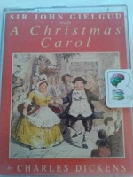 A Christmas Carol written by Charles Dickens performed by Sir John Gielgud on Cassette (Abridged)