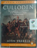 Culloden written by John Prebble performed by David Rintoul on Cassette (Abridged)