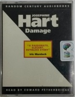 Damage written by Josephine Hart performed by Edward Petherbridge on Cassette (Abridged)