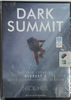 Dark Summit written by Nick Heil performed by David Drummond on MP3 CD (Unabridged)