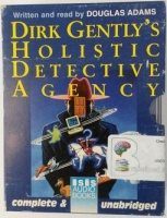 Dirk Gently's Holistic Detective Agency written by Douglas Adams performed by Douglas Adams on Cassette (Unabridged)