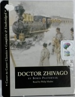 Doctor Zhivago written by Boris Pasternak performed by Philip Madoc on Cassette (Unabridged)