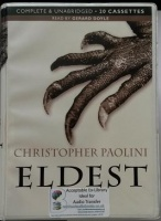 Eldest written by Christopher Paolini performed by Gerard Doyle on Cassette (Unabridged)