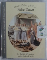 False Dawn written by Edith Wharton performed by Derek Jacobi on Cassette (Unabridged)