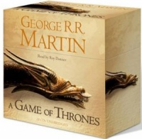 A Game of Thrones written by George R.R. Martin performed by Roy Dotrice on CD (Unabridged)