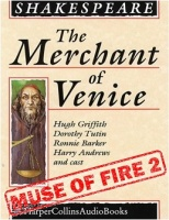 The Merchant of Venice written by William Shakespeare performed by Hugh Griffith, Dorothy Tutin, Ronnie Barker and Harry Andrews on Cassette (Unabridged)