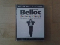 Cautionary Verses written by Hilaire Belloc performed by Stephen Fry on Cassette (Abridged)
