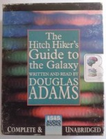 The Hitch-Hiker's Guide to the Galaxy written by Douglas Adams performed by Douglas Adams on Cassette (Unabridged)